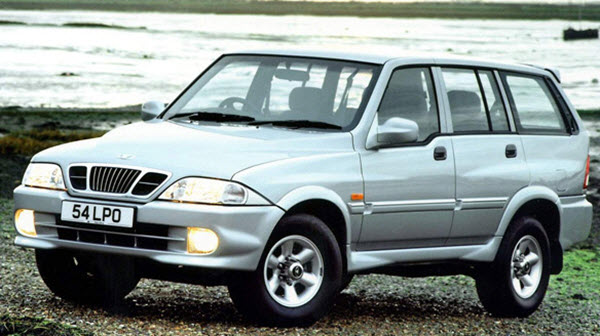 SSANGYONG MUSSO 2005