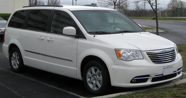CHRYSLER GRAND TOWN & COUNTRY 2008
