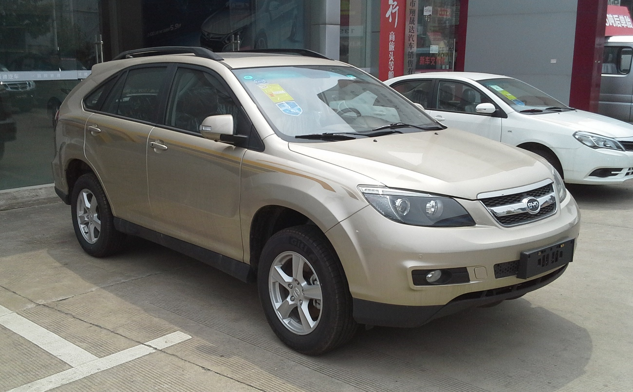 BYD S6 2015