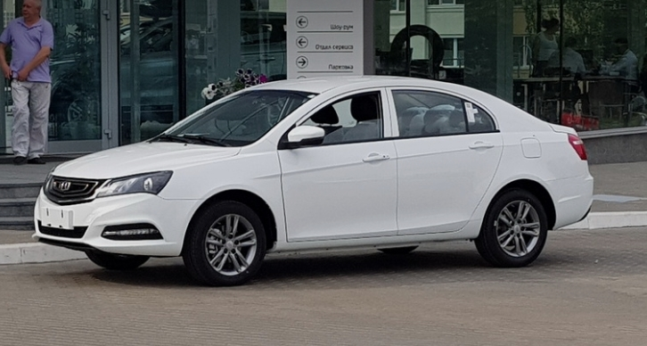 2019 GEELY EMGRAND 7 1.8 GC AT 4P