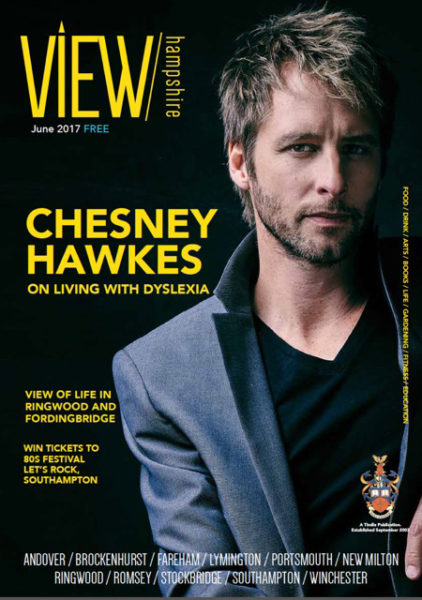 UK View Magazine - Chesney Hawkes