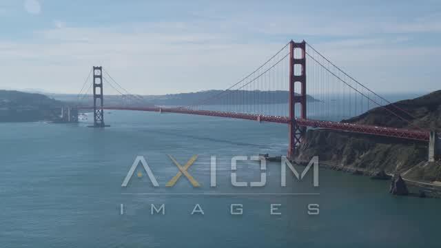 San Francisco, CA Aerial Stock Footage