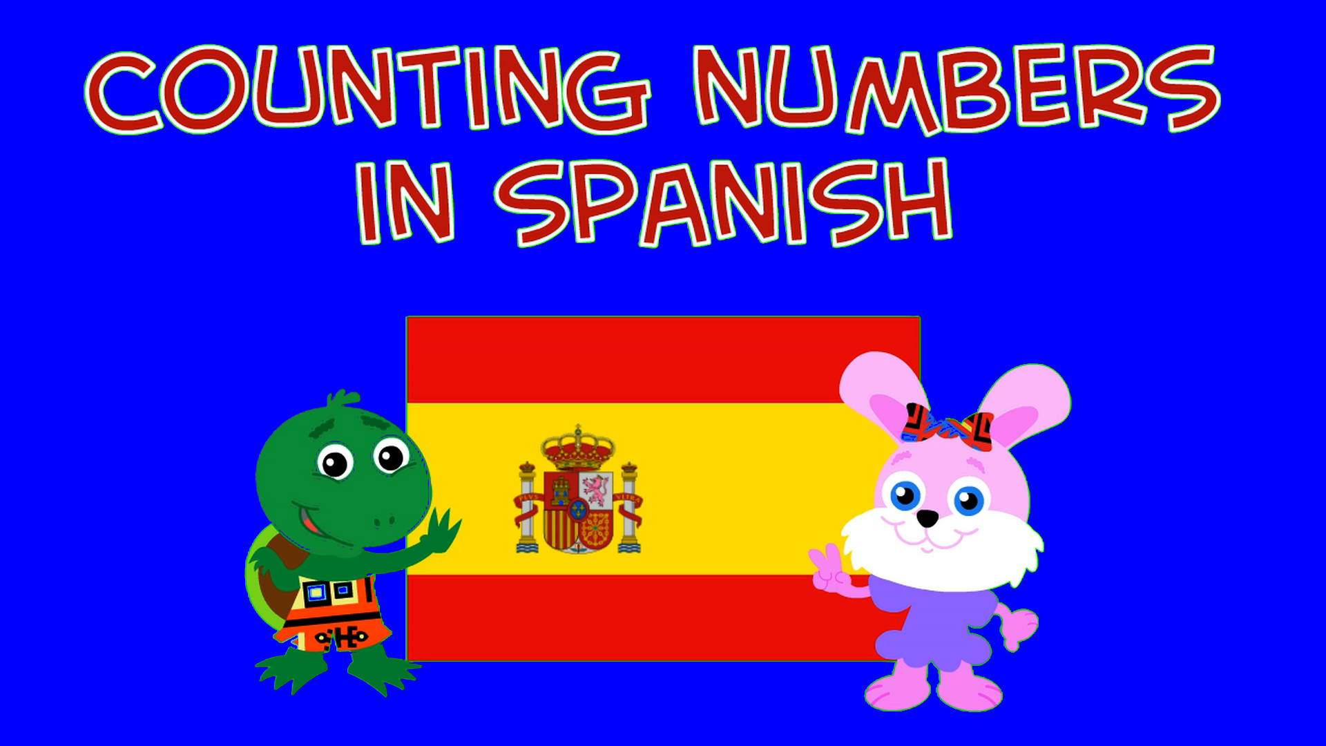 COUNTING NUMBERS IN SPANISH (Soundboard)