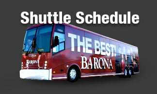 barona casino bus pick up