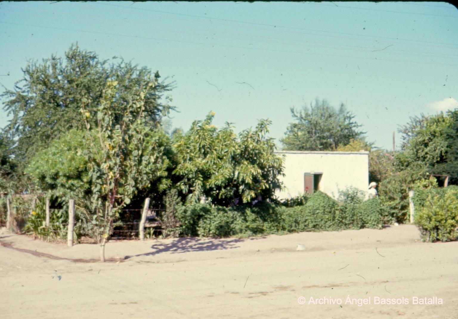 Casa yaqui en Bácum