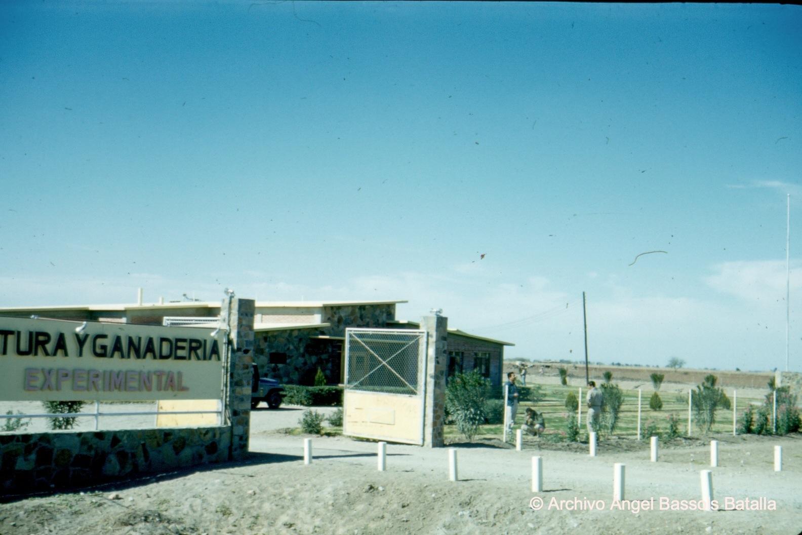 Estación SAG en Valle de Mexicali