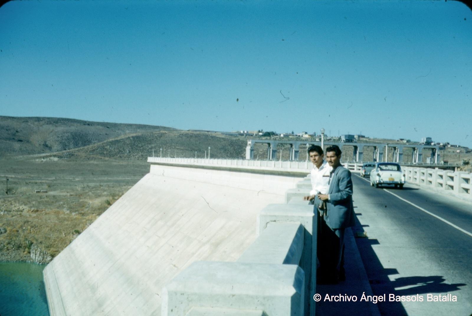 Cortina de la presa A. Rodríguez