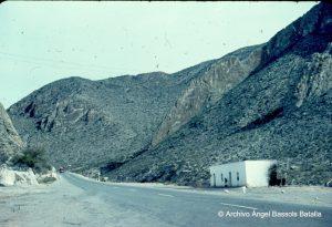 Casas y cerros de La Muralla