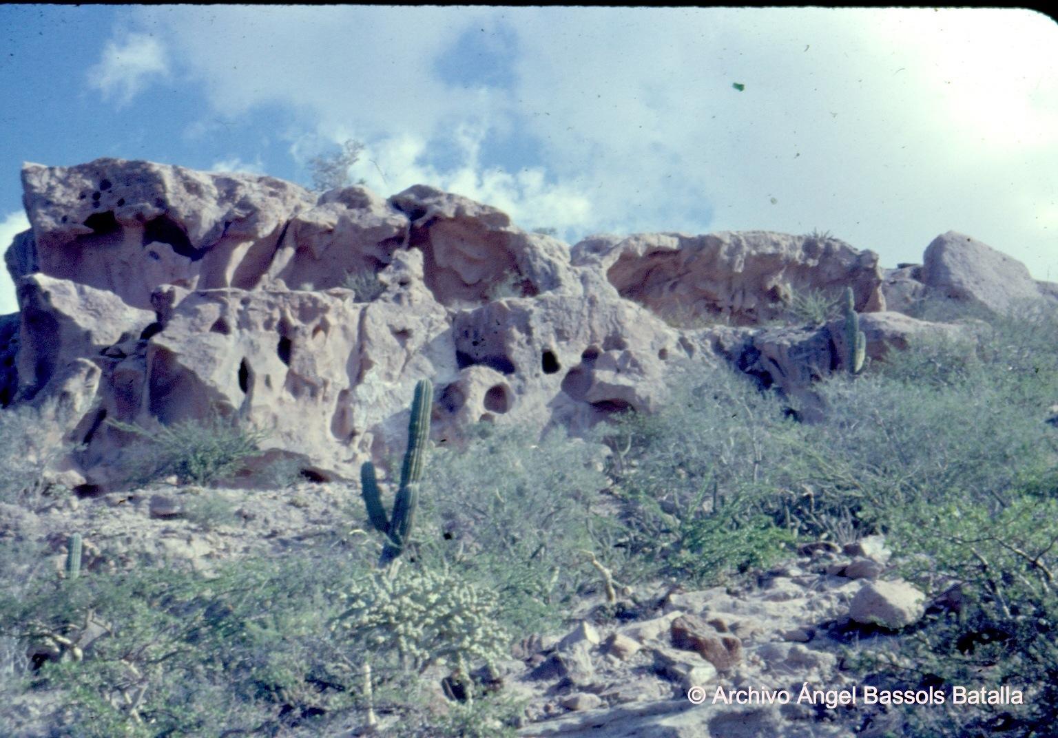Rocas de Las Calaveras en La Paz
