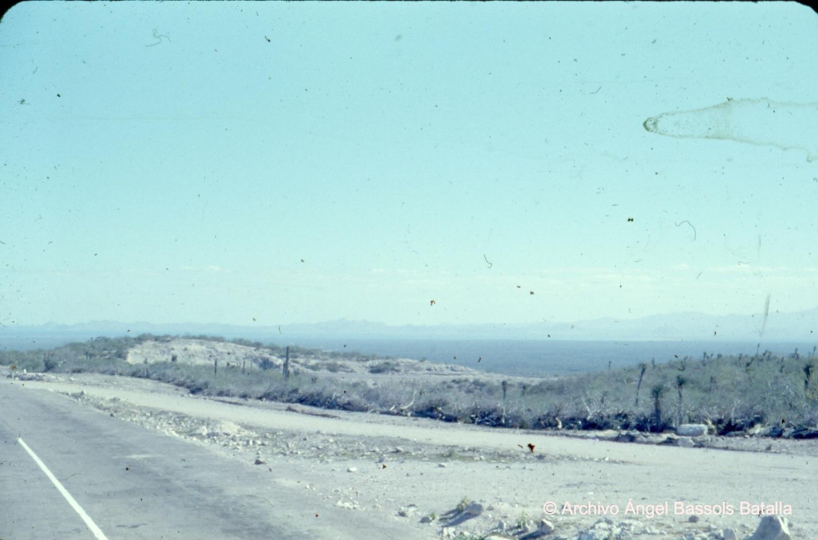 Camino cerca de La Paz