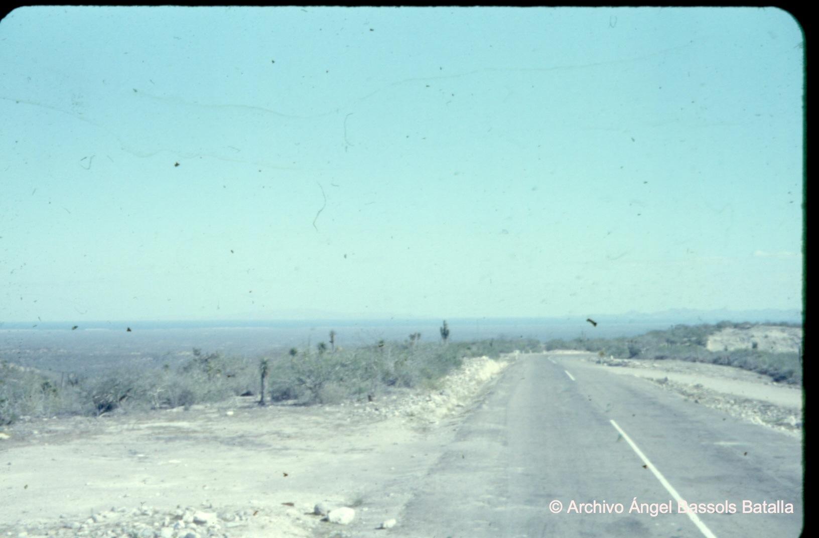 Camino a Bahía La Paz