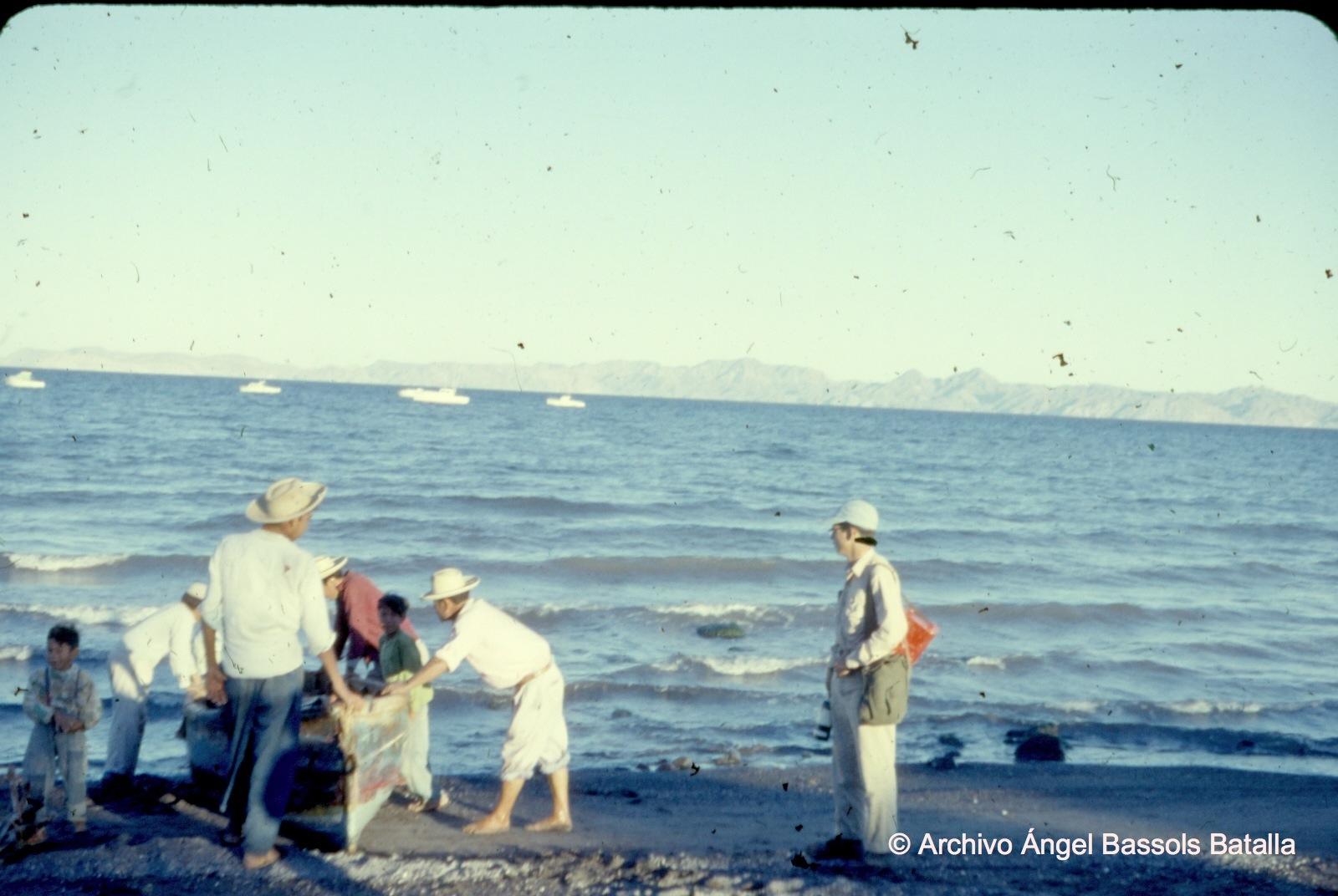 Frente a Isla San Marcos