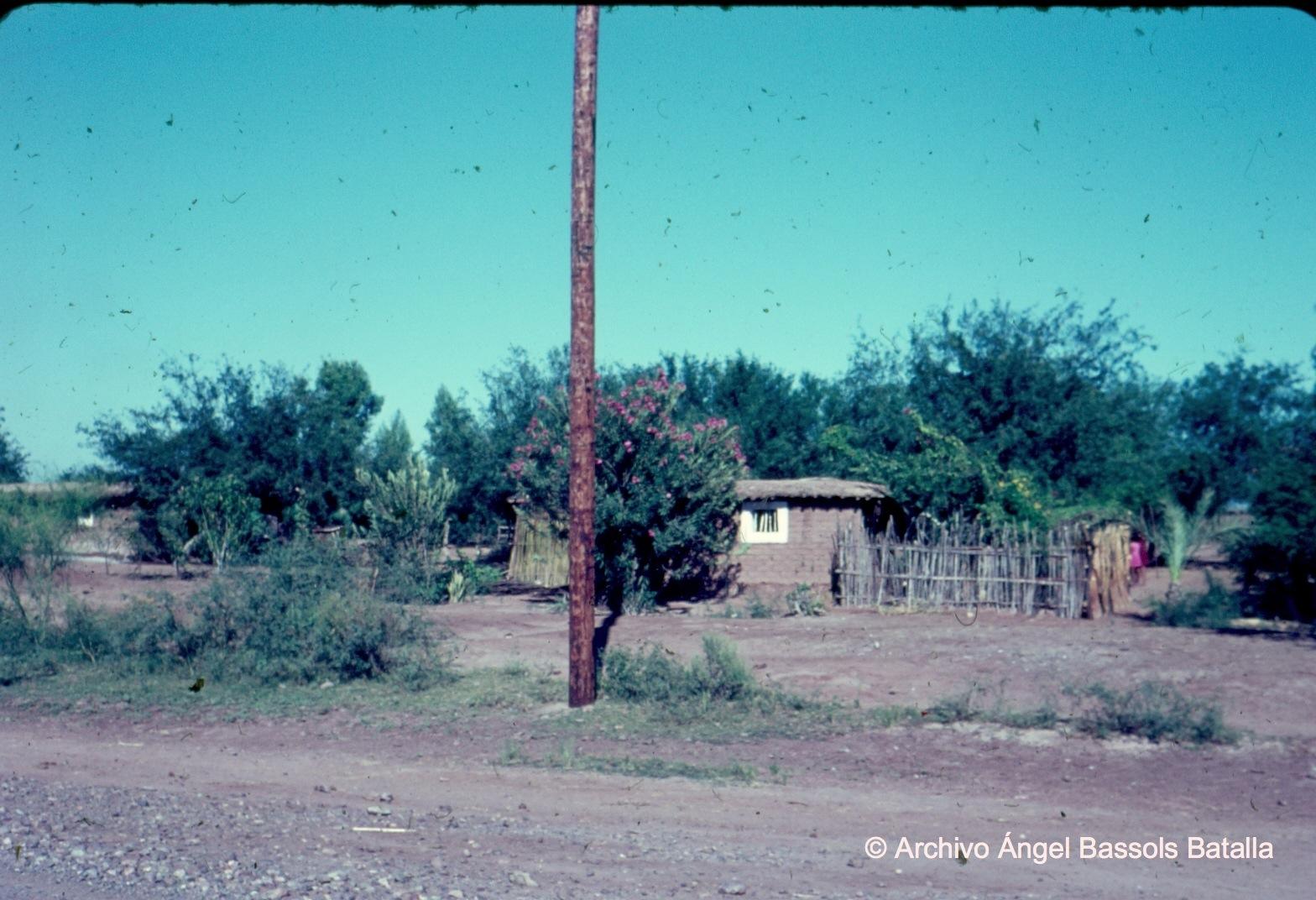 Casa rural de Huatabampo camino a Yavaros