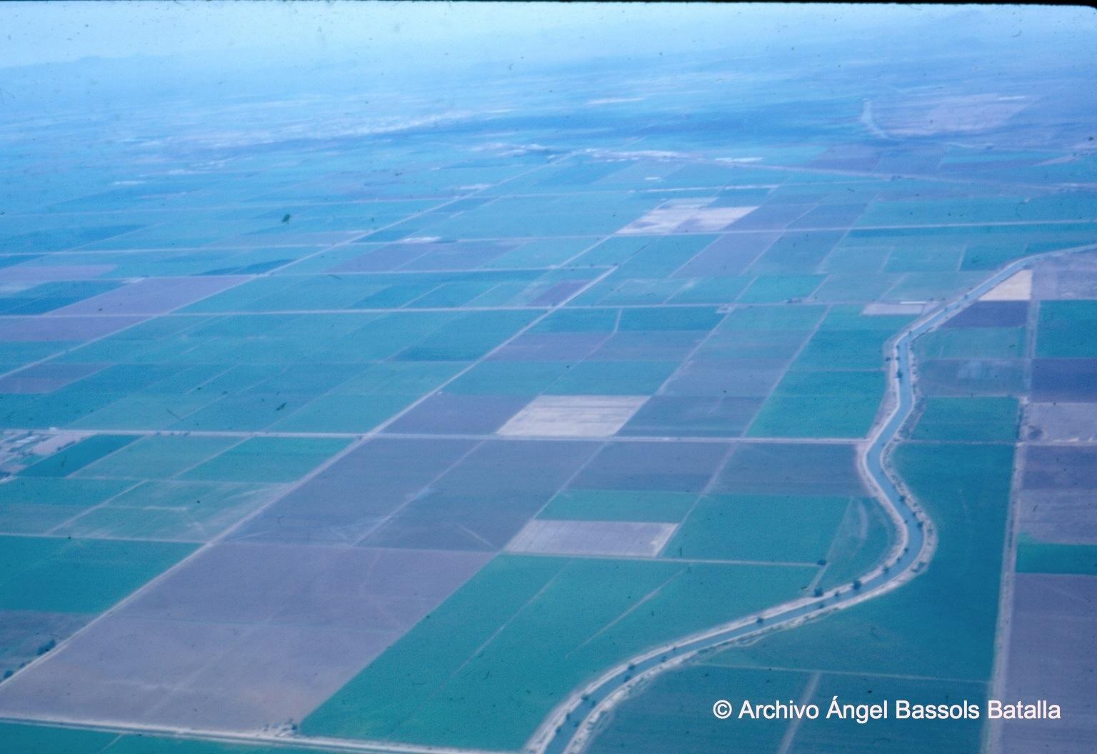 La gran planicie de riego del Valle Bajo del yaqui