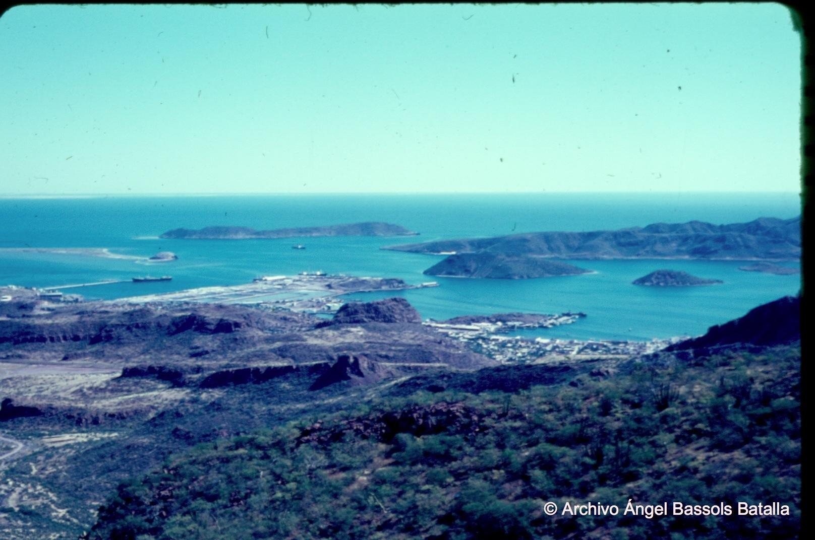 Panorámica de Guaymas desde el Cerro El Vigía
