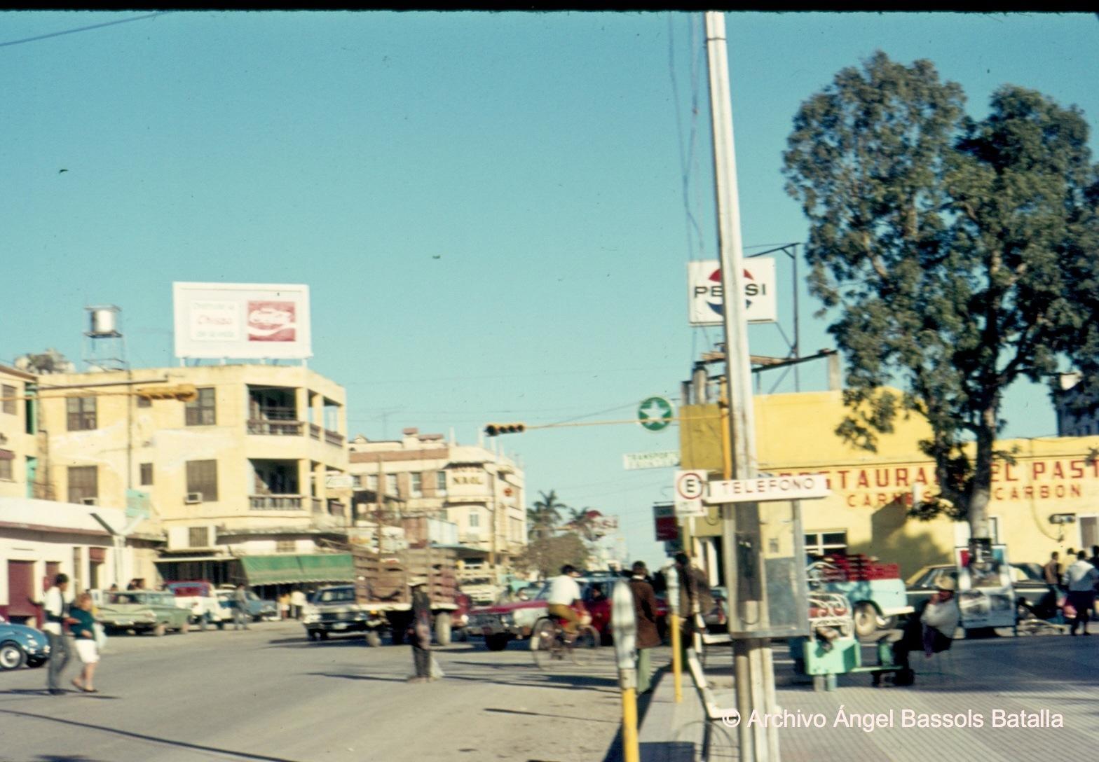 Calle central de Mante