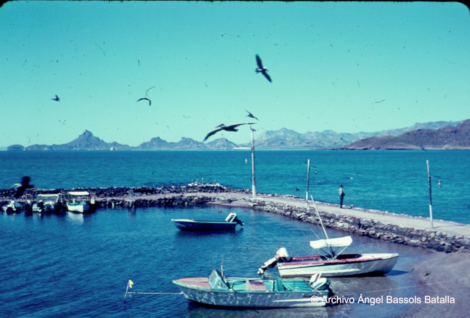 Playa y muelle al Norte de Guaymas