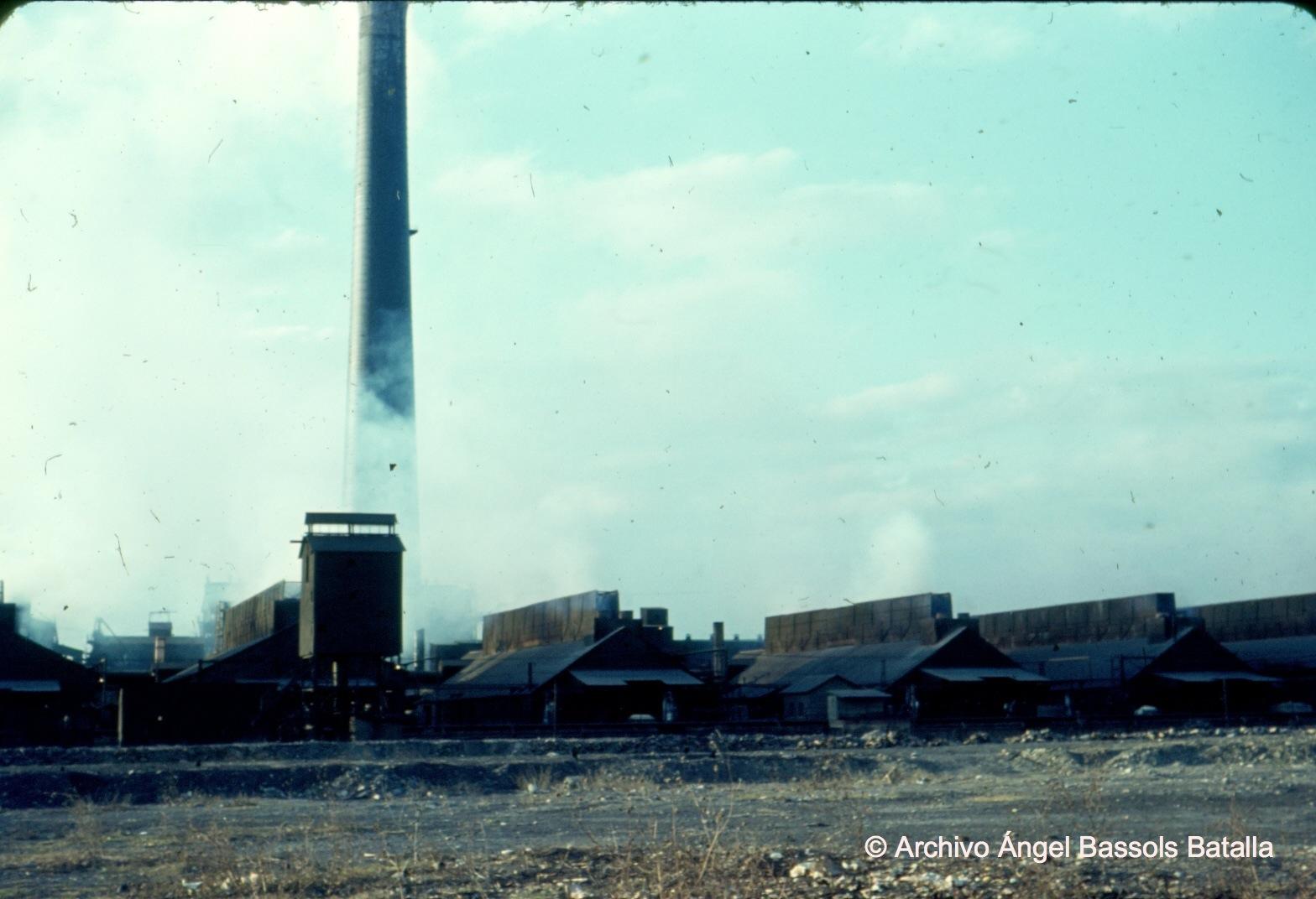 Torre de fundición al Norte Rosita