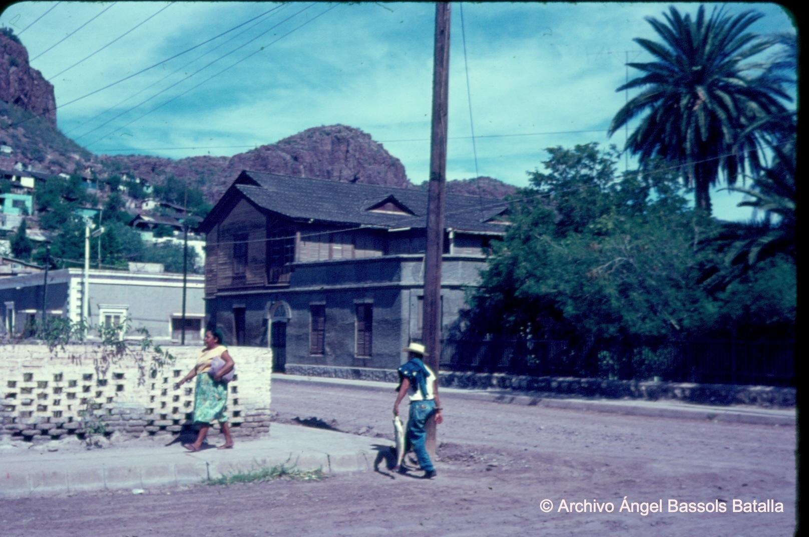 Calle del viejo Guaymas