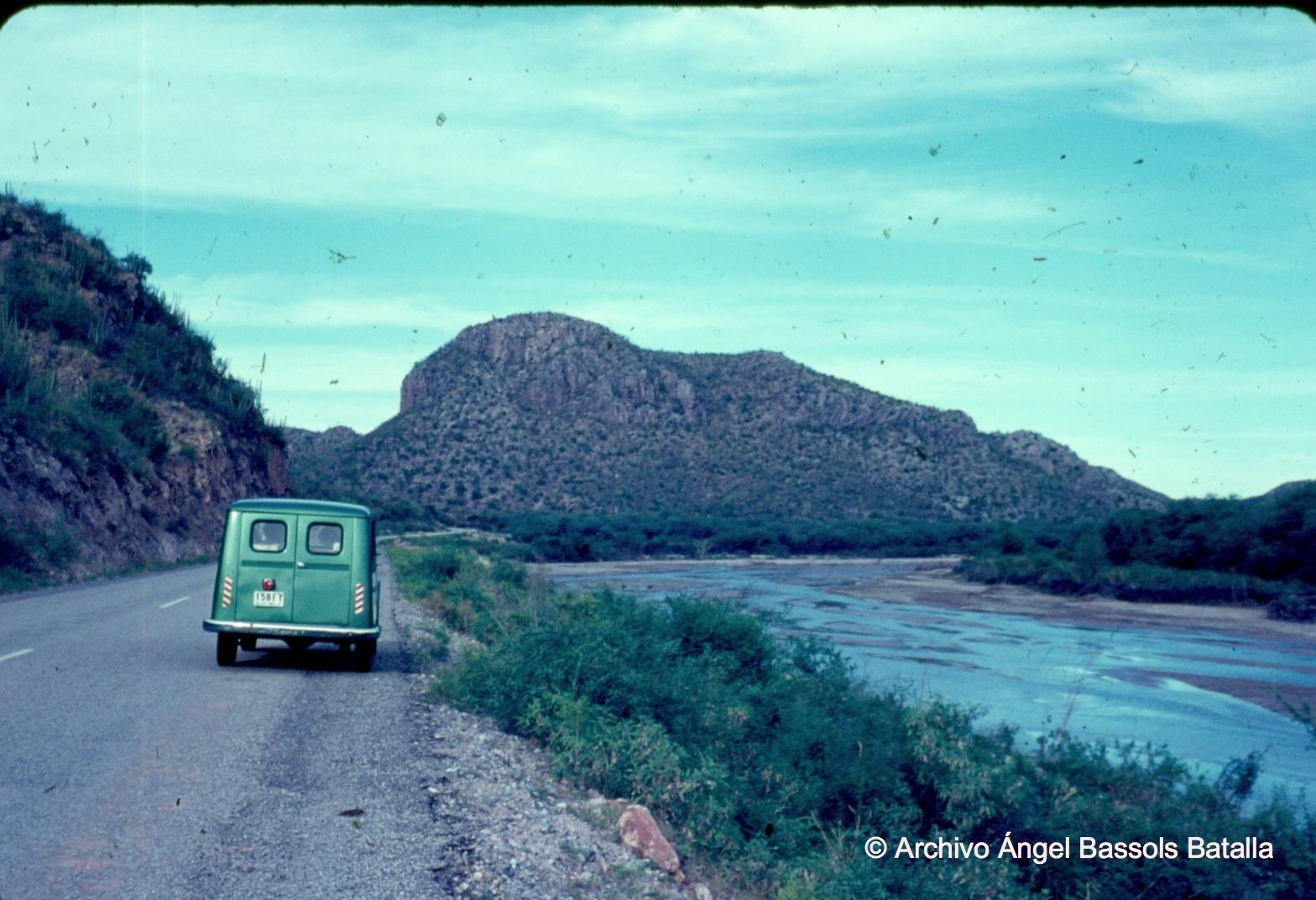 Río Sonora al entrar a SM de Hermosillo