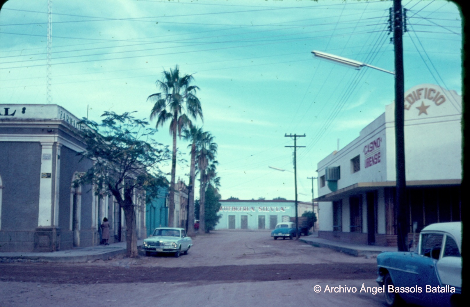 Calle central de Ures