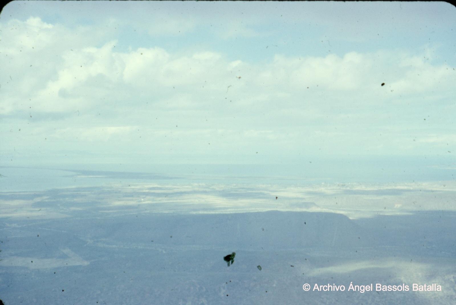 Baja California desde el aire