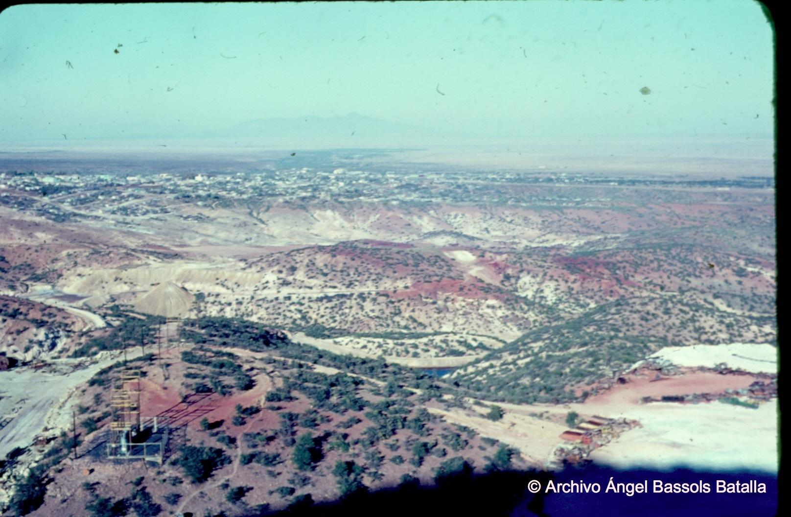 La mesa de Cananea desde El Mineral