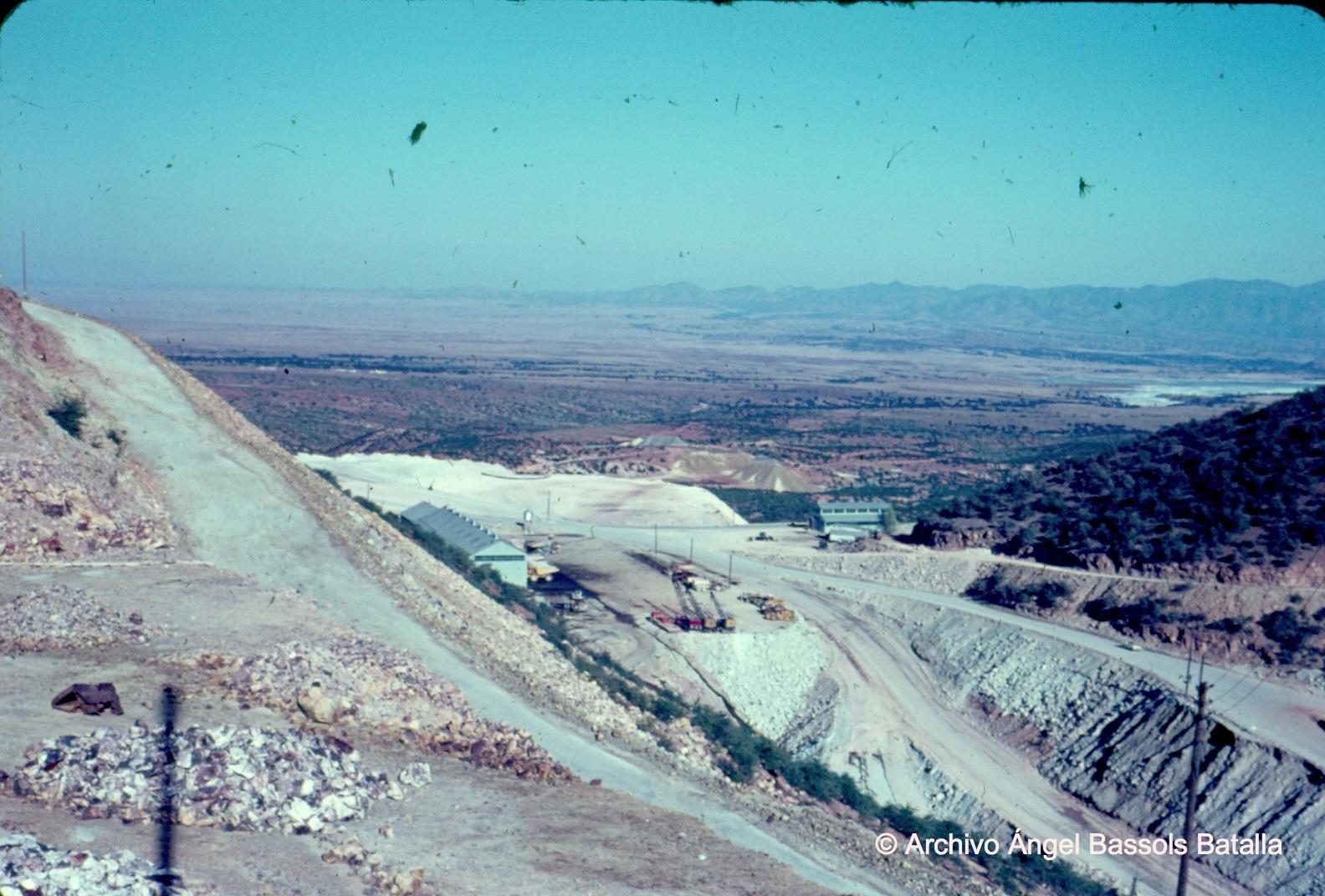Cortes del mineral