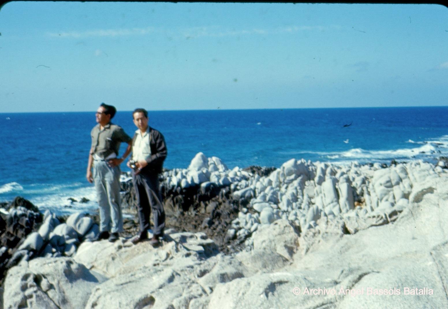 Peñas en Bahía Choya