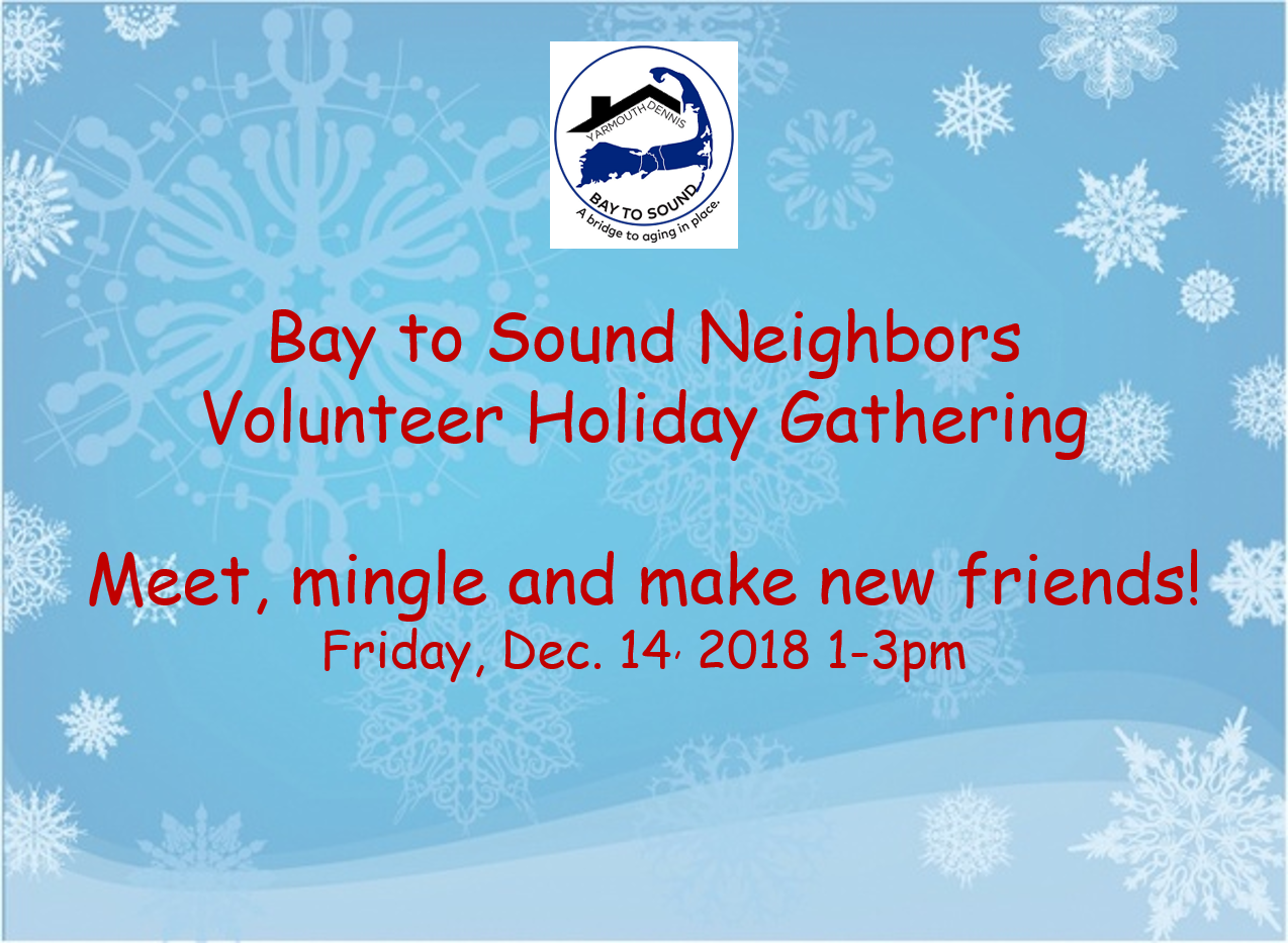 Holiday Gathering for Volunteers picture