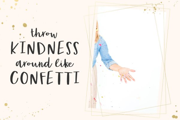 kindness quote Party Dress Cursive Font
