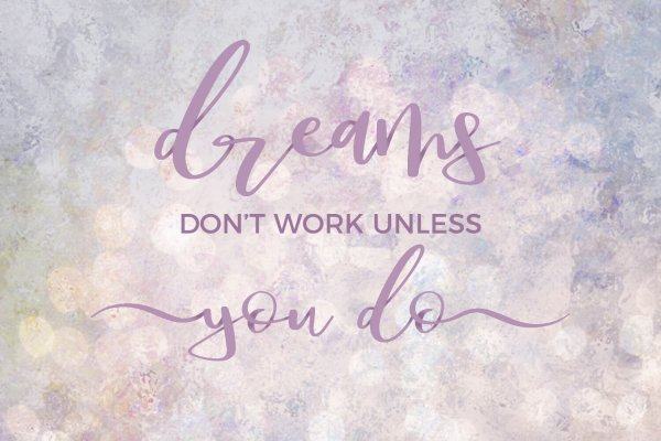 quote graphics Dream Font