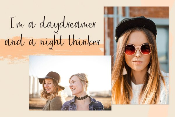 daydreamer Friday Vibes font
