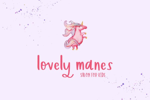 lovely manes Kirsteny Hand-lettered Sans Font