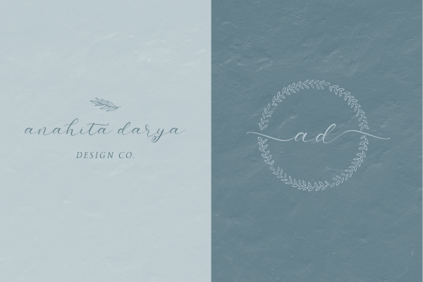 logo examples Salt and Sea script