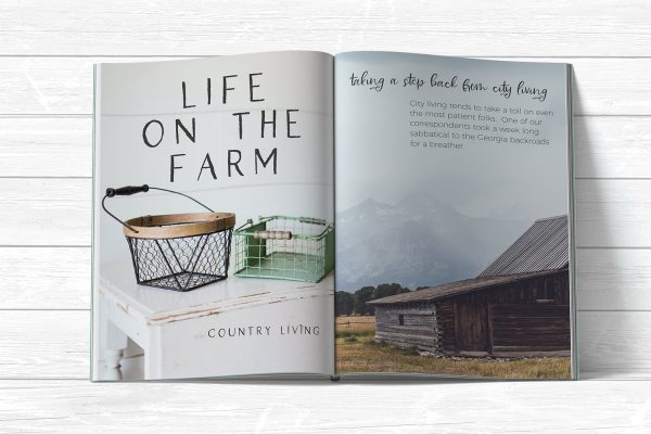display pages Farmhouse Country
