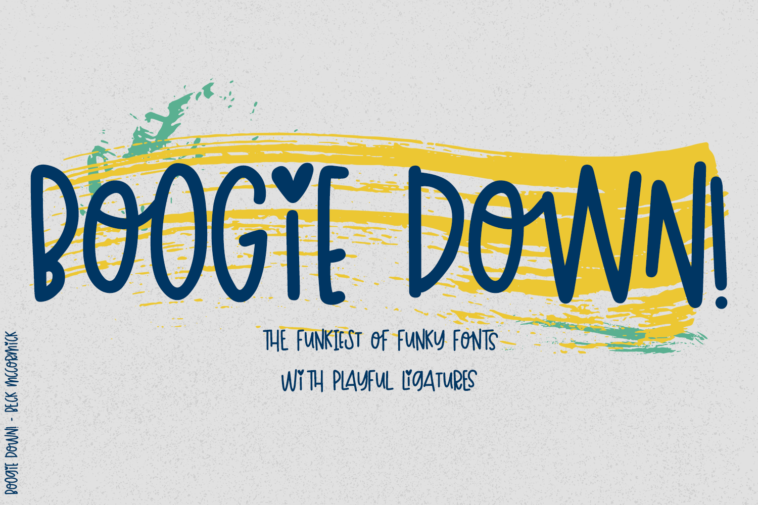 playful font Boogie Down