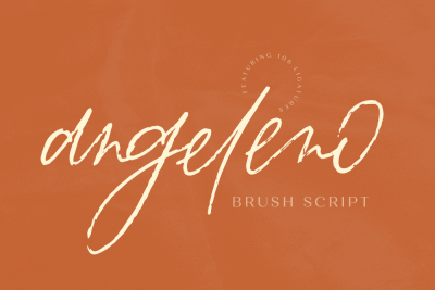 Angeleno Brush Script