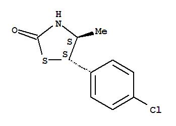 2-Thiazolidinone,5-(4-chlorophenyl)-4-methyl-, (4R,5R)-rel-