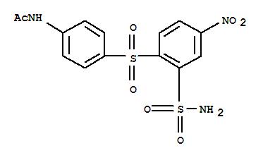 Acetamide,N-[4-[[2-(aminosulfonyl)-4-nitrophenyl]sulfonyl]phenyl]-