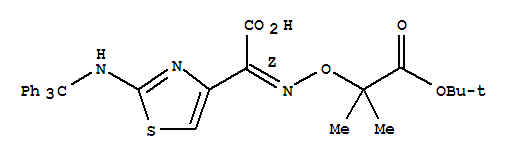 (Z)-2-(Tert-butoxycarbonylprop-2-oxyimino)-2-(2-tr...
