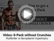 six pack program and building muscles