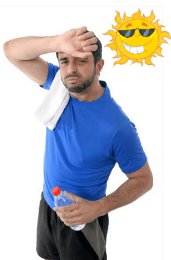Does sweat helps you lose weight?