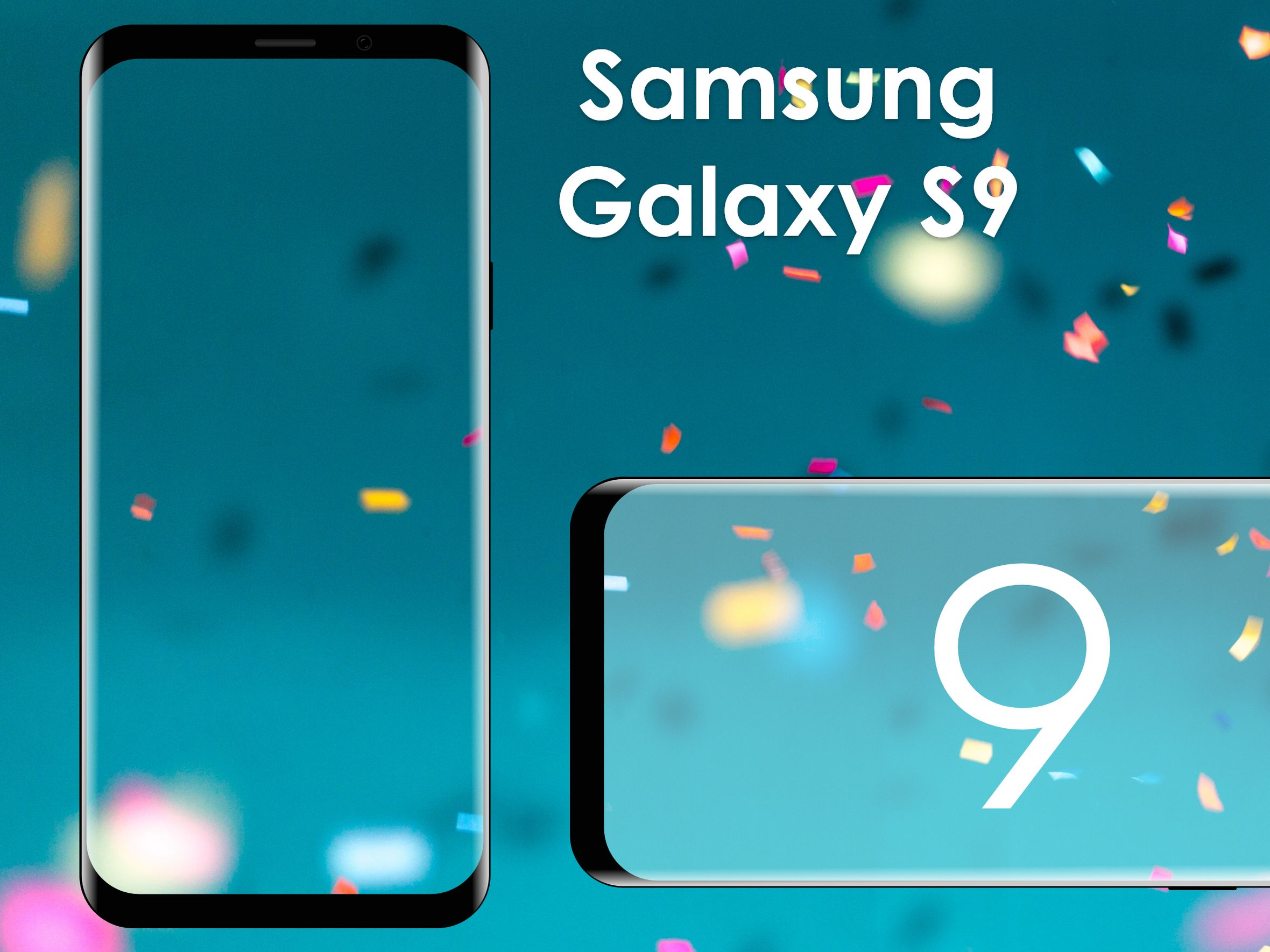 Samsung Galaxy S9 Mockup in Adobe XD