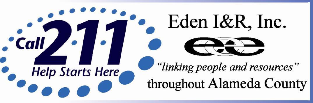 Eden I&R 2-1-1
