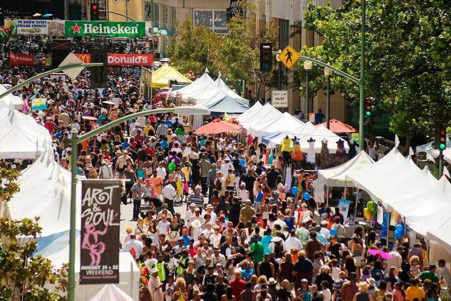 Art&Soul Fest - elevated view
