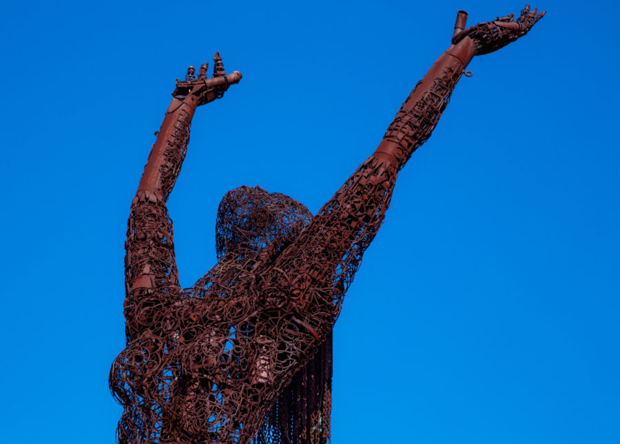 American Steel Sculpture