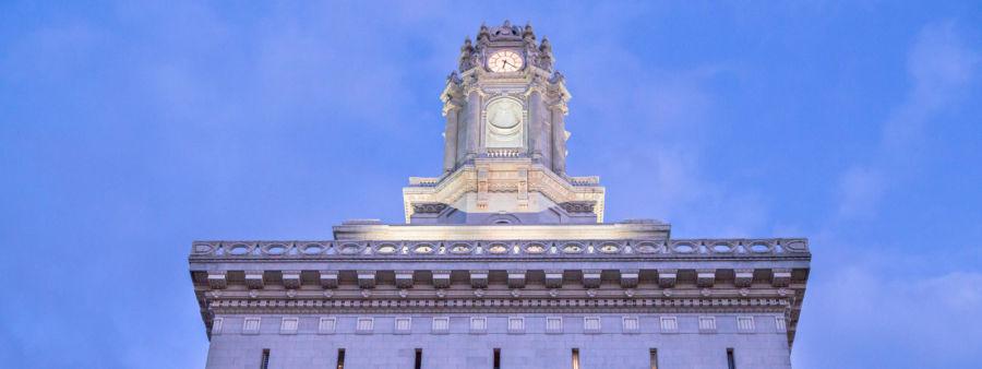 Oakland City Hall at Twilight