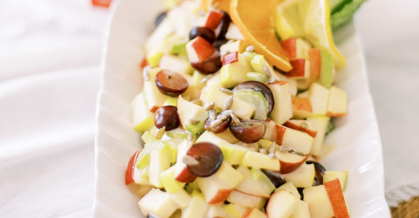 apple salad with baobab dressing | best avocado oil recipes