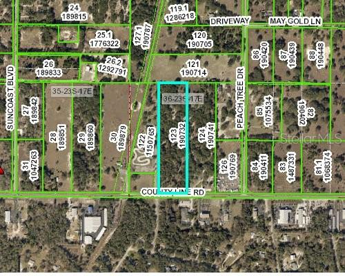 Listing Details for 9267 County Line Road, SPRING HILL, FL 34608